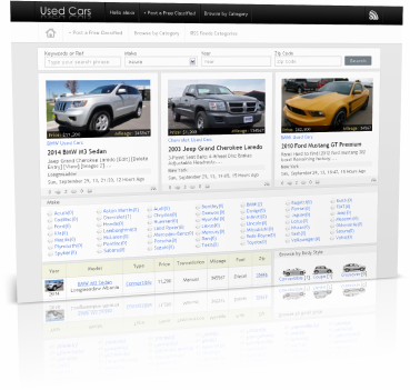 adSoftPro Used Cars Classifieds Ads Script